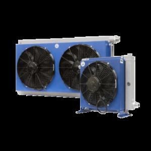 AIR-OIL HEAT EXCHANGER דגם כפול HPA42-2 - מחליפי חום אויר