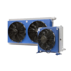 AIR-OIL HEAT EXCHANGER דגם כפול HPA52-2 - מחליפי חום אויר