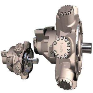 HMB325 מנוע רדיאלי כוכבי - מנועים הידראוליים