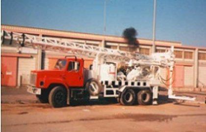 מכונת קידוח ניידת על משאית M150 – M250